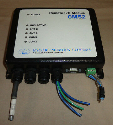 ESCORT Memory Systems CM52 Remote I/O Module EMS Input/Output Module USED