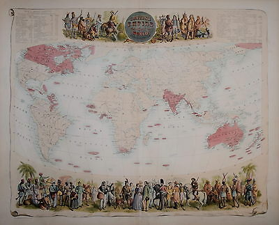British Empire Throughout The World By Archibald Fullarton. 1874.
