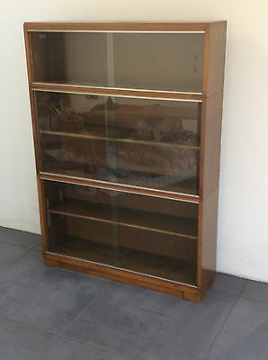 Minty Library Stacking Glazed Bookcase