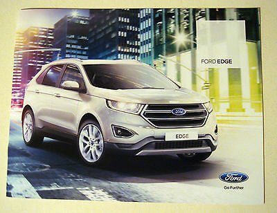 Ford . Edge . Ford Edge . August 2015 Sales Leaflet