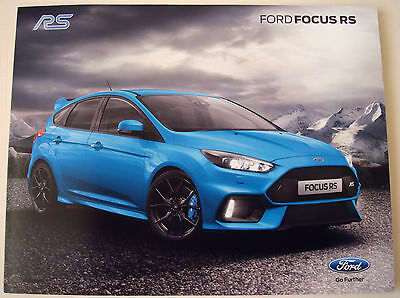 Ford . RS . Ford Focus RS . July 2015 Sales Leaflet