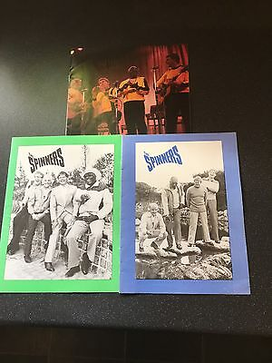 The Spinners Concert Programmes