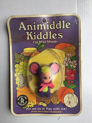 VINTAGE LIDDLE KIDDLE MISS MOUSE ANIMIDDLE!! EXCELLENT! With Original packaging