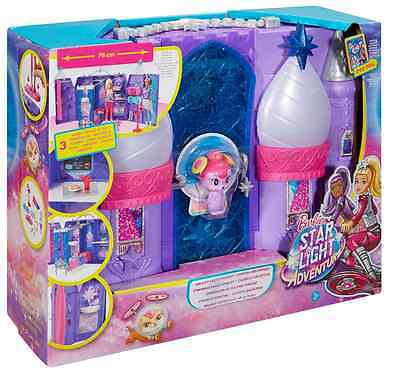 Barbie DPB51 Star Light Adventure Galaxy Castle Playset Hoverboard Space