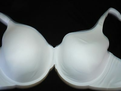 Curvation - Women's Lift and Support Underwire White Bra:Size 42DD NWOT