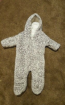 baby all in one snowsuit 3-6 months