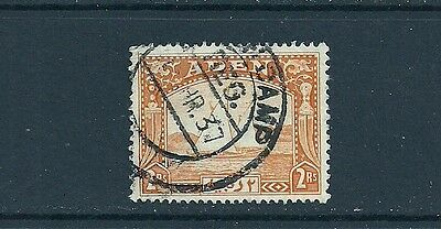 Aden KGVI 1937; SG10; 2r yellow; very fine used.