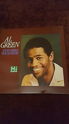 Al Green vinyl lp Explores Your Mind UK 80's repress mint condition.
