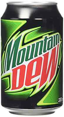 Mountain Dew 330 ml (Pack of 24)