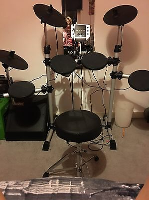 Electric Drums And Amplifier
