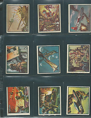 Freedom's War - 1950's Topps - 51 Different - 1 Die Cut - Vg To Ex/mt