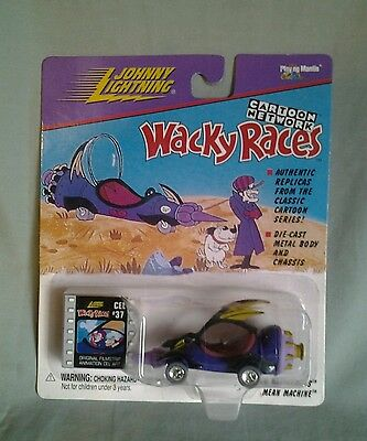 Dick Dastardly Johnny Lightning Die Cast Car - Wacky Races Mean Machine Racers ☆