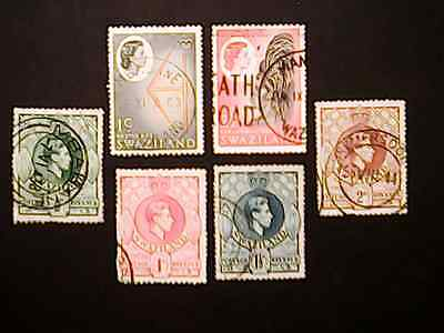SWAZILAND  selection of stamps  ~~L@@K~~