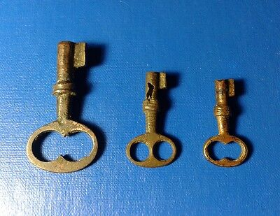 RARE old antique keys to the 18th century.