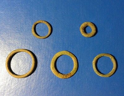 "lot of 5 Celtic Proto-Money ""COINS""800BC. №20"