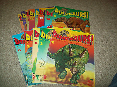 15 x DINOSAURS! Magazines, great for Kids
