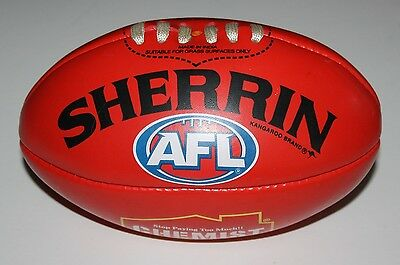 Afl Sherrin Football Chemist Warehouse North Melbourne In Good Condition