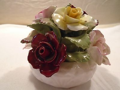 Aynsley Hand Modelled and Hand Painted Fine Bone China Flower Bouquet England