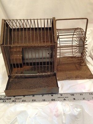 VTG HENDRYX HAMSTER CAGE Very Rare NEW HAVEN,CONN.