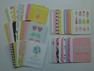Project Life Dear Lizzy HAPPY PLACE Edition Partial Kit 3x4 Cards