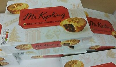 Mr Kipling mince pies (Christmas essentials) 4x6=24 delicious mince pies (EatUp)