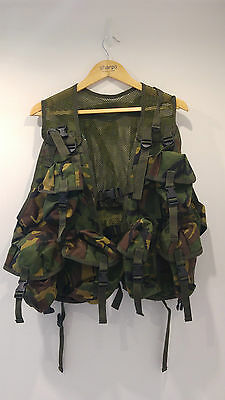 British Army DPM Tactical Assault Vest / Webbing/ Web-tex branded