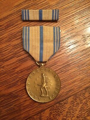 Wwii Us Armed Forces Reserve Medal