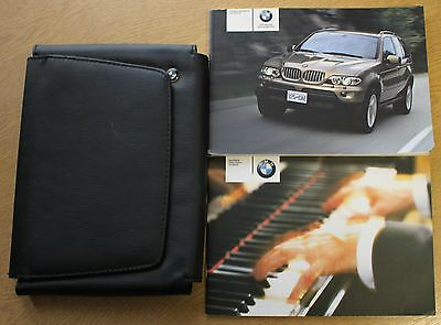Bmw X5 E53 Handbook Owners Manual Wallet 2003-2006 Pack 11242