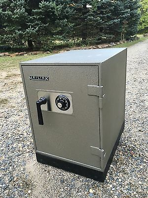 MEILINK Steel DIAL COMBINATION SAFE fire Class C With BRAND NEW key + Combo