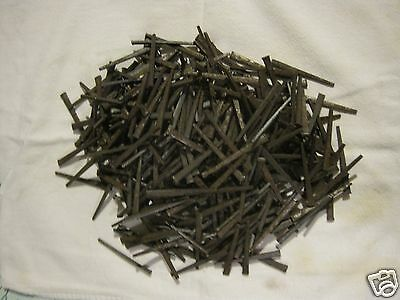 "Vintage 2 Lbs Square Cut Nails.tabelle #8 Steel Cut 2~1/2"" Hardened&tempered"