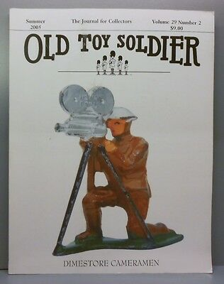 OLD TOY SOLDIER Magazine Summer 2005 Lead Figures Barclay ALL-NU VGC