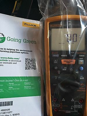 Fluke 1587 FC Insulation Multimeter with Fluke Connect. Manufactured In 2016!!!