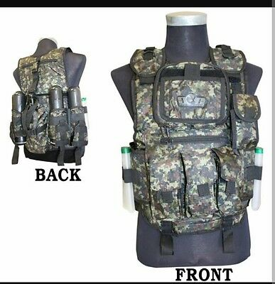 GXG Tactical deluxe Vest- Digi Green FREE SHIPPING