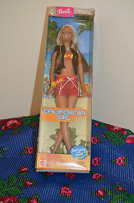 Beautiful Barbie Doll By Mattel - 'California Girl 2003'  New, in Box.