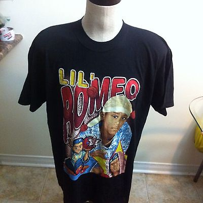 Vintage Lil Romeo My Baby T Shirt Rap Tee Sz XL Master P No Limit Records