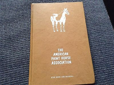 The American Paint Horse Association Stud Book And Registry 1970 Vol. 3 No. 1