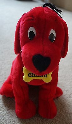CLIFFORD the BIG RED DOG stuffed plush animal puppy Kohls excellent