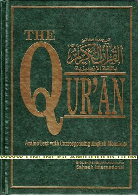 The Quran (Arabic Text With Corresponding English Meaning)  Large Size