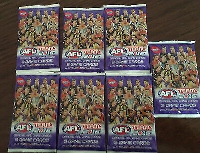 Footy cards - 2016 - Brand New
