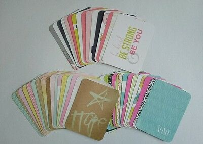 Project Life Heidi Swapp Assorted PARTIAL Kit 3x4 Cards Becky Higgins / Dreamy