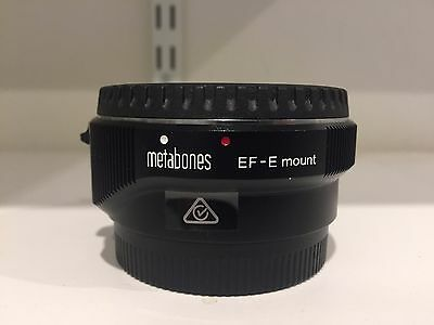 Metabones adapter EF-E mount (Canon to Sony full frame)
