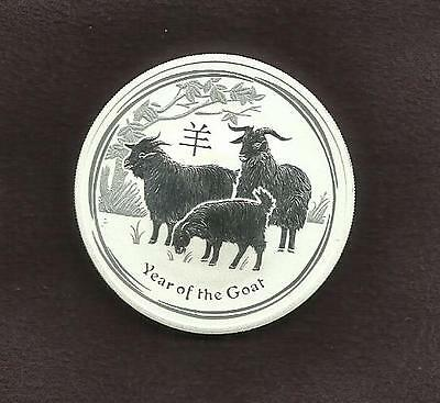 1oz SILVER 999 COIN - LUNA GOAT - PERTH MINT