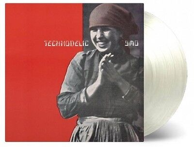 Yellow Magic Orchestra - Technodelic CLEAR COLOURED 180g vinyl LP YMO