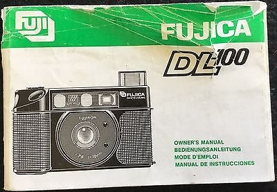 FUJICA DL-100 MANUAL - 59 Pages