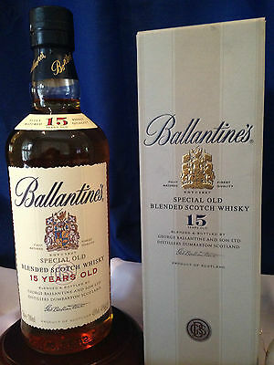 Ballantine's Blended Scotch Whisky Aged 15 Years. Rare only released in China.