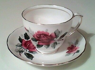 Duchess Rose Bone China  ~ Tea Set for 2 (8 pieces)
