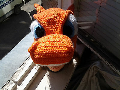Custom handmade crochet game hat, POKEMON  WOW, MINECRAFT, LOL