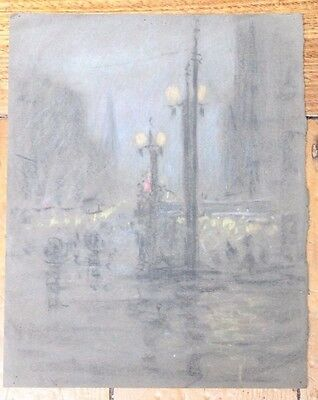 Robert Field Procter - Attributed Unsigned Charcoal And Pencil