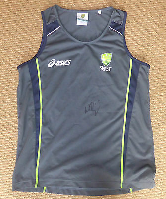 Cricket Australia Players Singlet Youth Size L(12) Excellent Condition