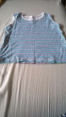 M&S uni sex vest,100%cotton,4-5yrs, used very good condition